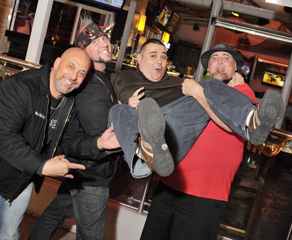 Kevin, Horny Mike, Robert and Scott