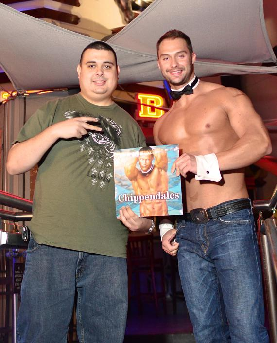 James Davis from Chippendales and The Amazing Race at PBR Rock Bar