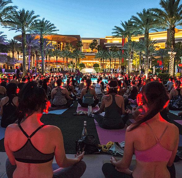 Give Your Saturday Some Peace and Quiet with Silent Savasana at Westgate Las Vegas Resort & Casino