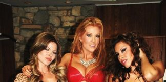 Angelica Bridges Performs at Playboy Mansion with Band, Strawberry Blonde