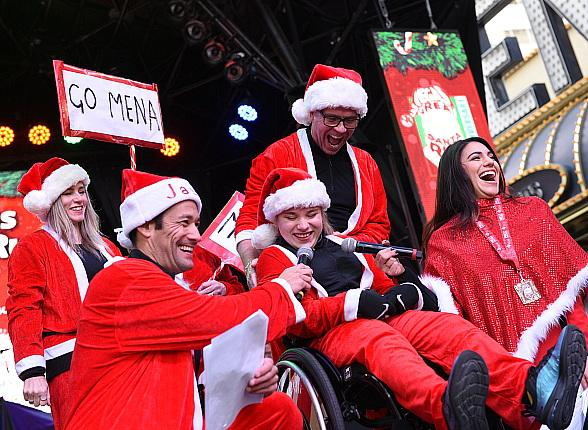 Over 6,500 Participants Attend the 15th Annual Las Vegas Great Santa Run