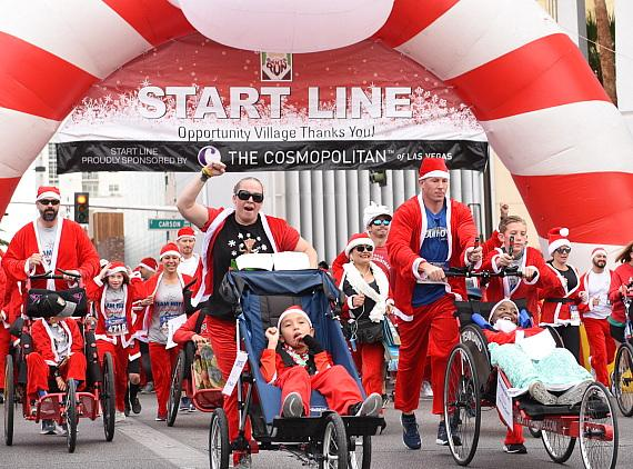 15th annual Las Vegas Great Santa Run