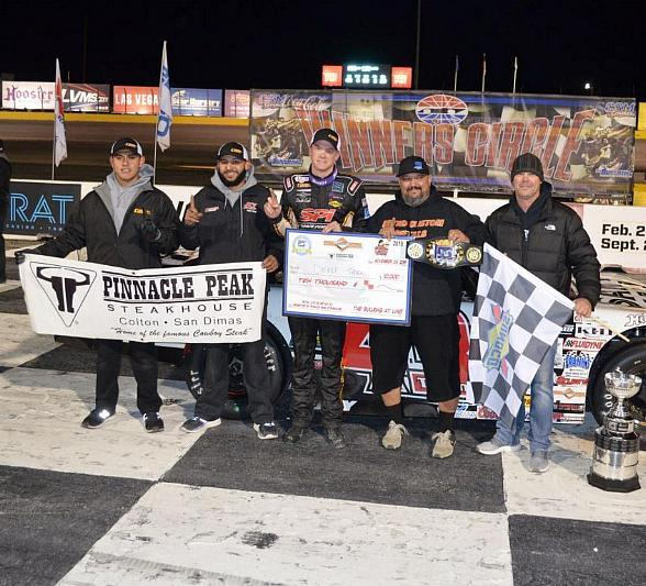 Thorn Wins $10,000 SPEARS Southwest Tour Series Race at The Bullring