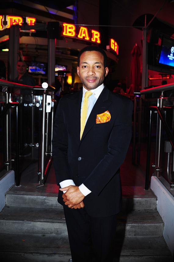Maxwell Billieon Goes 'On Air with Robert & CC' at PBR Rock Bar in Las Vegas