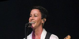 Alanis Morissette Performs at the Pearl Concert Theater at Palms Casino Resort in Las Vegas