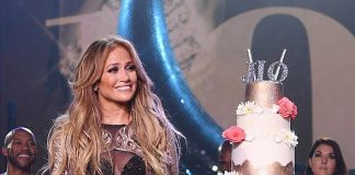 Jennifer Lopez Celebrates 100th Show of Headlining Residency at the Zappos Theater at Planet Hollywood Resort & Casino