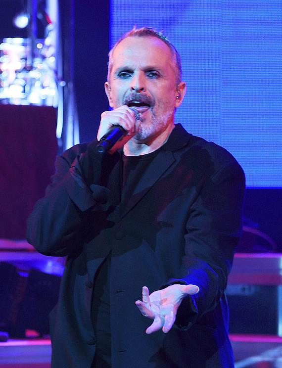 Miguel Bose Kicked off Mexican Independence Weekend in Vegas at The Pearl at the Palms