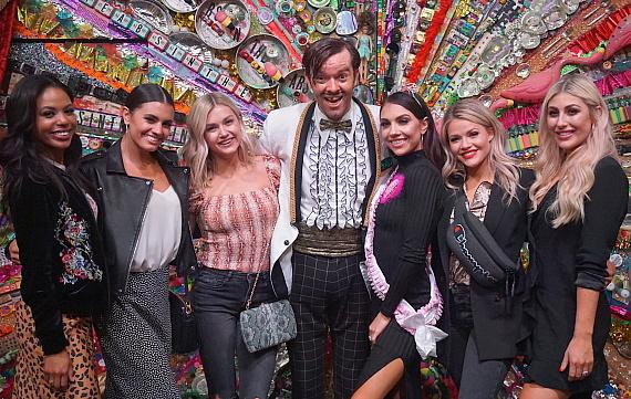 DWTS Cast members Attend ABSINTHE at Caesars Palace