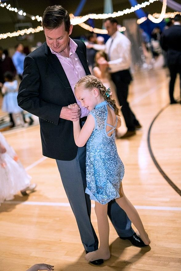 Life Time Athletic Green Valley Hosted Daddy Daughter Dance