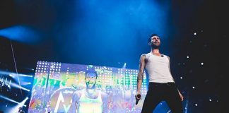 "Maroon 5 with ""Sexiest Man Alive"" Adam Levine Ring in 2014 at Mandalay Bay Events Center Dec. 30­-31"