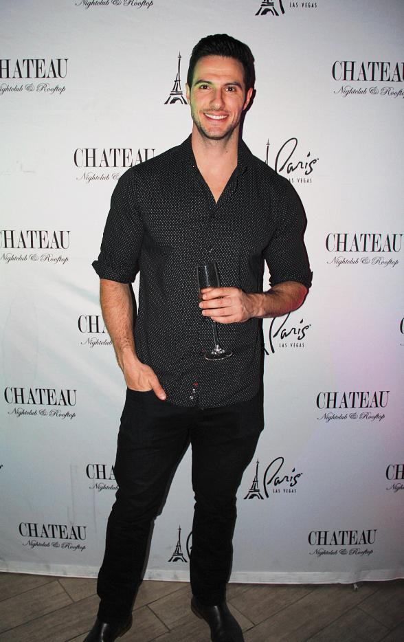 """""""Bachelor in Paradise"""" Star Daniel Maguire Parties the Night Away at Chateau Nightclub and Rooftop"""