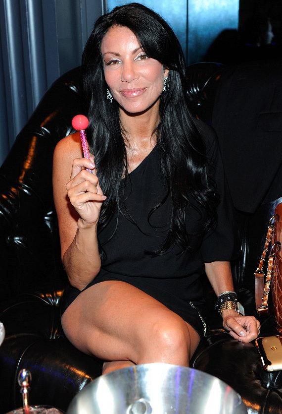 Danielle Staub inside Chateau Nightclub & Gardens for the pre-premiere party of VH1's