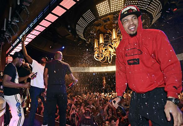 The Toronto Raptors Head to Wynn Las Vegas to Celebrate NBA Championship Win at XS Nightclub with Drake