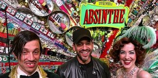 David Blaine Attends ABSINTHE at Caesars Palace Las Vegas