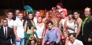 David Copperfield with cast of ABSINTHE