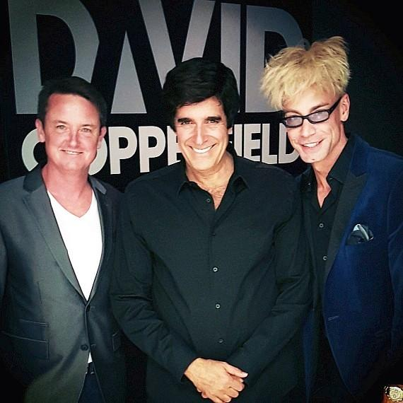 Murray the Magician Invited Backstage at David Cooperfield's Show at MGM Grand Las Vegas