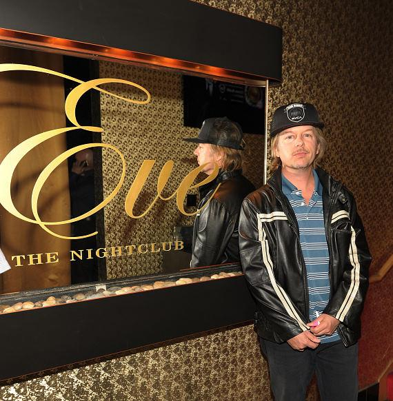 David Spade at Eve Nightclub
