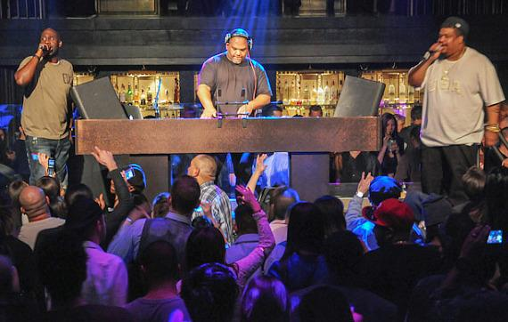 De La Soul performs at Official Grand Opening of Body English in Las Vegas