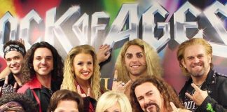 "'80s Pop Icon Debbie Gibson Attends ""Rock of Ages"" at The Venetian Las Vegas"