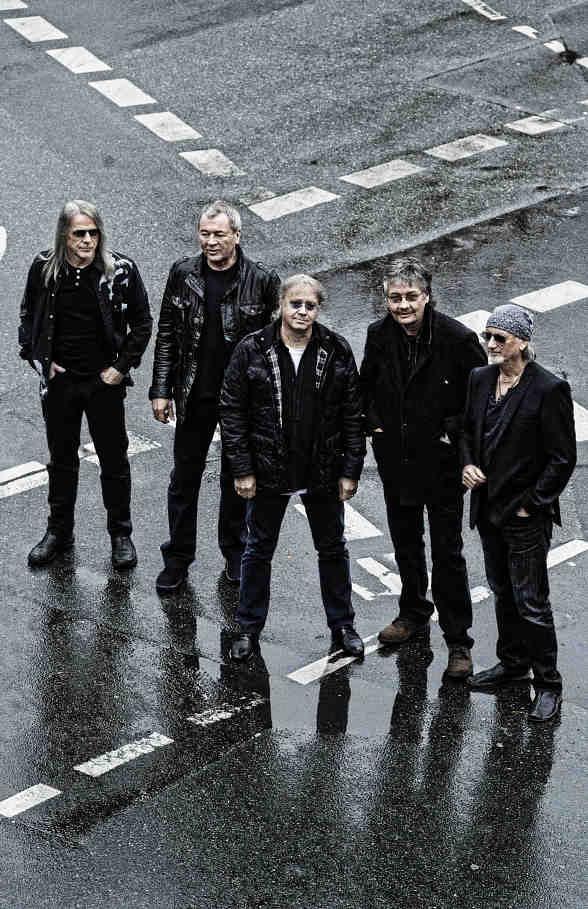 Deep Purple to Perform Rare Las Vegas Concert During Rock of Vegas Summer Concert Series at Fremont Street Experience
