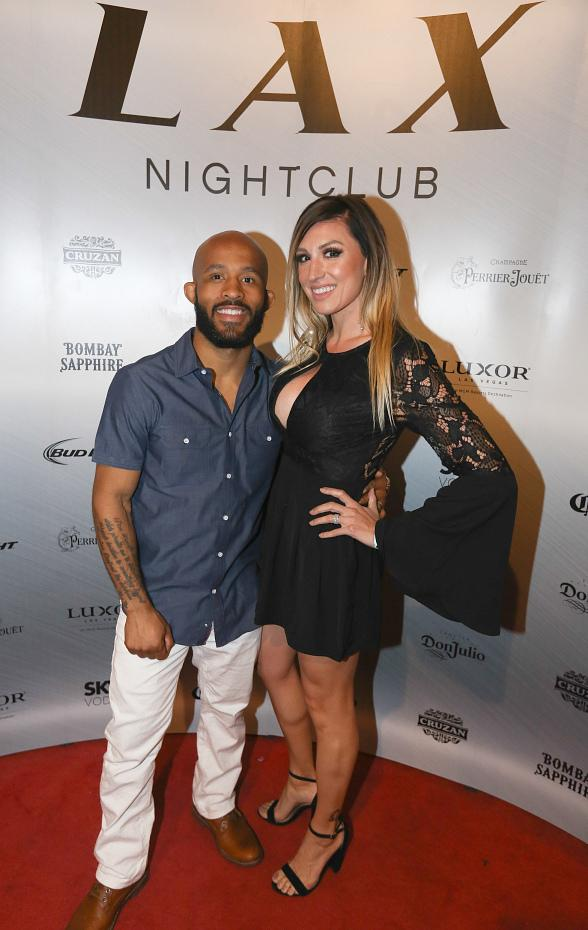 """LAX Nightclub Presents Demetrious """"Mighty Mouse"""" Johnson's Official After-Fight Party"""