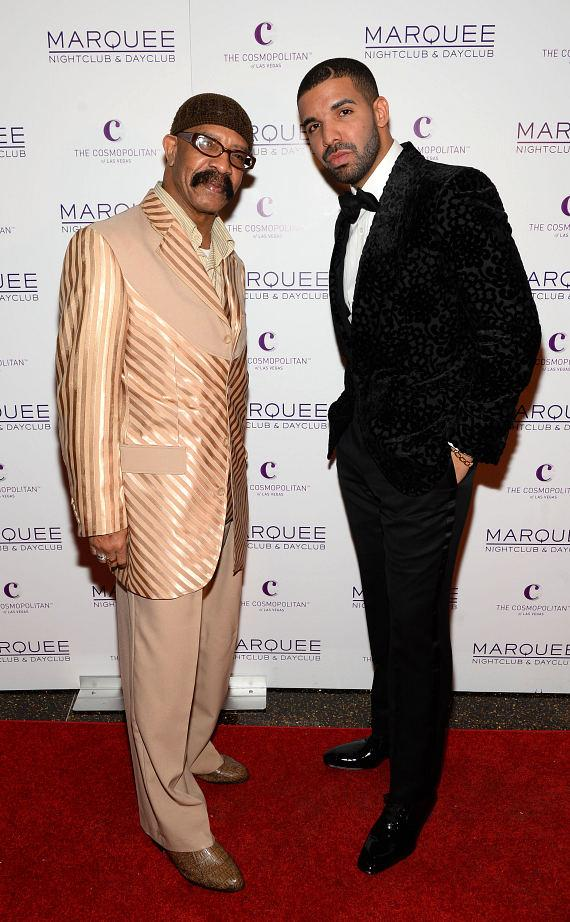 Dennis Graham and son Drake_at Marquee