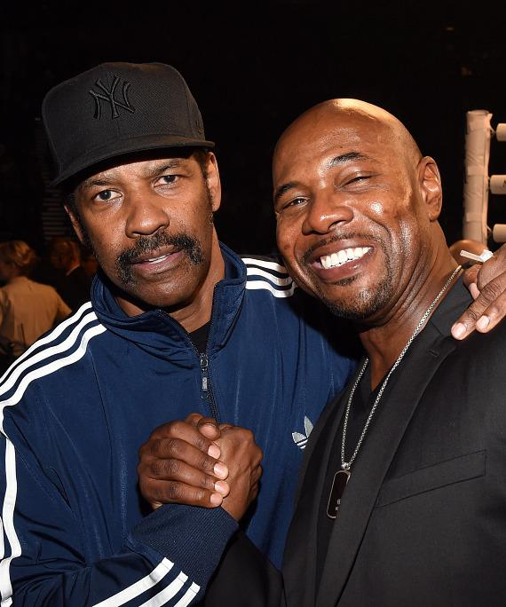 Denzel Washington and Antoine Fuqua