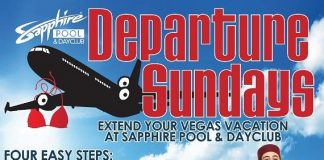 Extend Your Vegas Vacation with Departure Sundays at Sapphire Pool & Day Club