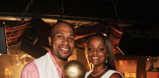 Derek & Candace Fisher at TAO