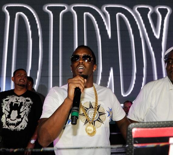 Diddy Entertains the Crowd at Chateau Nightclub & Gardens