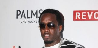 Diddy on red carpet at The Palms