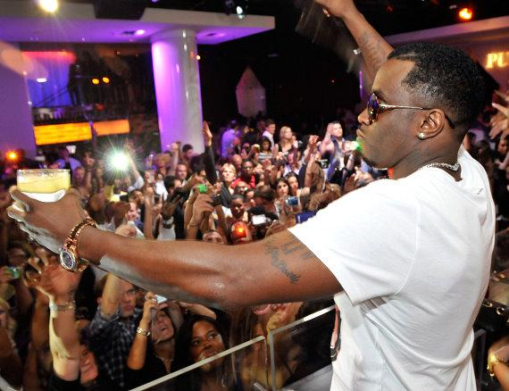 """Sean """"Diddy"""" Combs hosts after-party at PURE Nightclub"""
