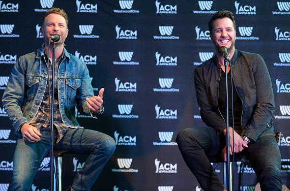 52nd ACM Awards Host Press Conference & Dice Rollout with Luke Bryan and Dierks Bentley
