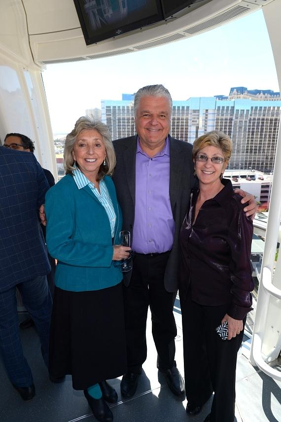 Dina Titus, Steve Sisolak and Chris Giunchigliani