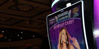 Superstar Singer Mariah Carey Debuts Slot Machine at Caesars Palace Las Vegas