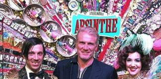 Dolph Lundgren Attends ABSINTHE at Caesars Palace in Las Vegas