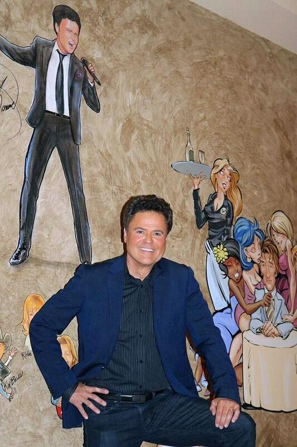 Iconic Variety Entertainer Donny Osmond Stops by The Palm Las Vegas