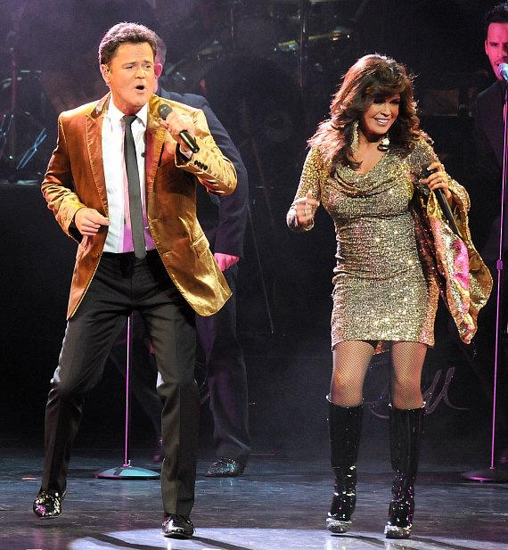 Donny & Marie Osmond 'Christmas in Chicago' Opening Night at the Oriental Theatre
