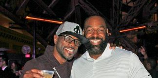 NFL Legend Donovan McNabb Makes Surprise Appearance at Chateau Nightclub & Rooftop