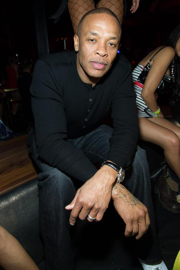 Dr. Dre at Beats by Dre after party at Marquee Nightclub