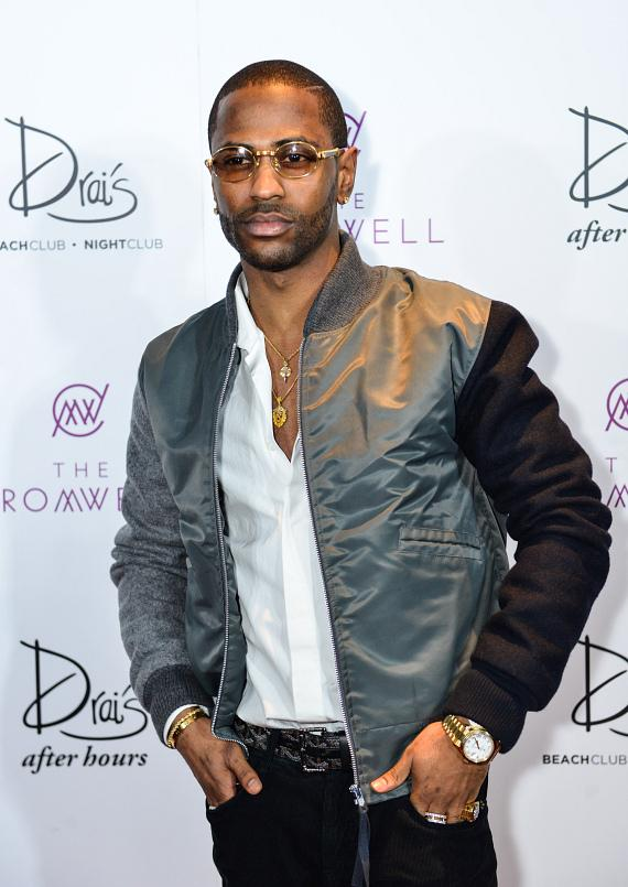 Big Sean arrives at Drai's Nightclub
