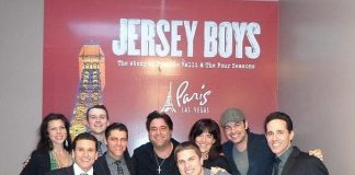 Country Artist Dustin Lynch Attends JERSEY BOYS at Paris Las Vegas