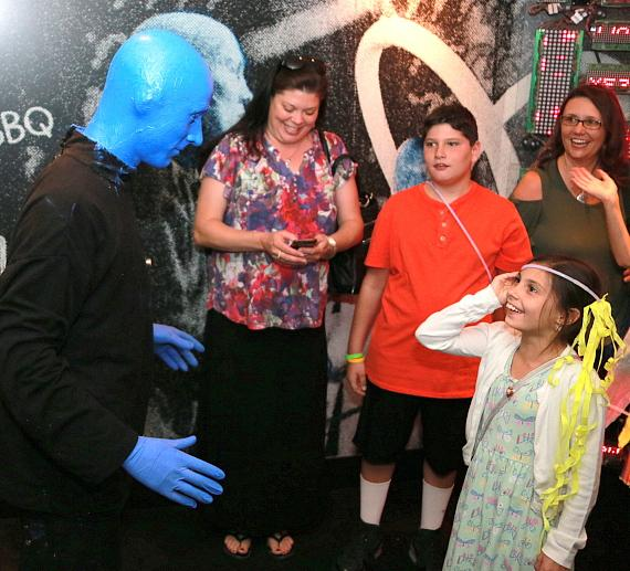 Blue Man Group Raises More Than $12,000 to Benefit Grant a Gift Autism Foundation with Fourth Annual Sensory-Friendly Performance