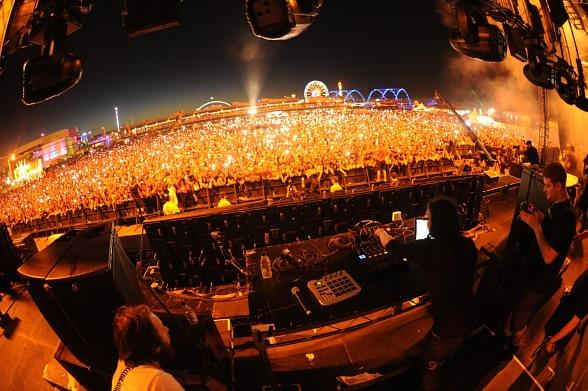 Skrillex at Electric Daisy Carnival Vegas