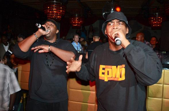 EPMD perform at LAVO's Old School Wednesday