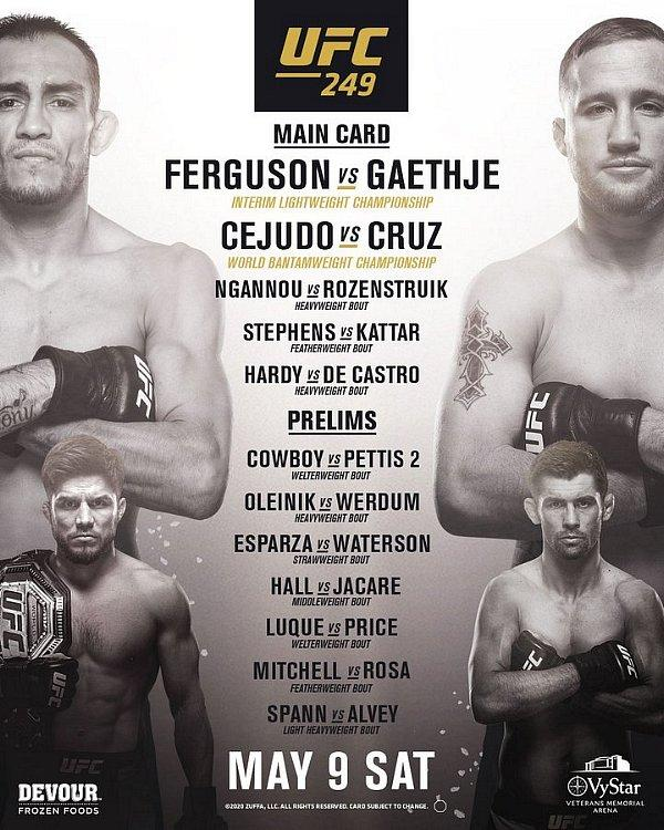 UFC Returns to Action With Stacked Card Headlined by Interim Lightweight Championship