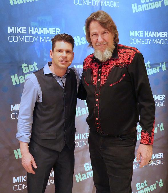 """Texas Chainsaw Massacre"" Actor Edwin Neal is Back for a Second Helping of ""The Mike Hammer Comedy and Magic Show"" at Four Queens Hotel & Casino in Las Vegas"