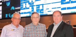 Football Promos and Brent Musburger Stops by for a Sneak Peek at Rampart Casino's New Race and Sports Book