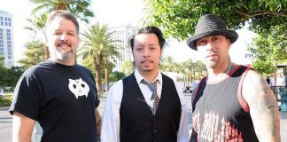 "Britt Griffith (""Ghost Hunters""), Efren Ramirez (""Napoleon Dynamite"") and David Dossett (""Sons of Anarchy"")"