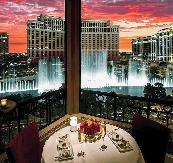 Elope in Style at Eiffel Tower Restaurant this Valentine's Day in Las Vegas